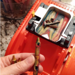 Crayons may have hollow spots