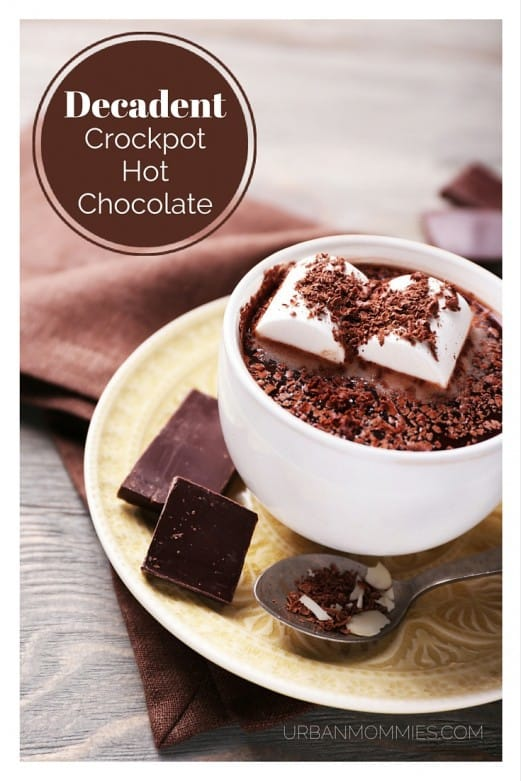 A cherished family recipe from my Grandma for the best, richest, creamiest hot chocolate you'll ever try. Make it in the crockpot and have a hot, delicious treat after an afternoon of winter fun!