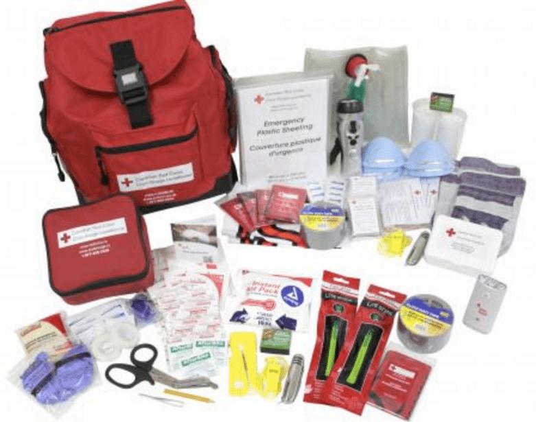 Red Cross Survival Kit