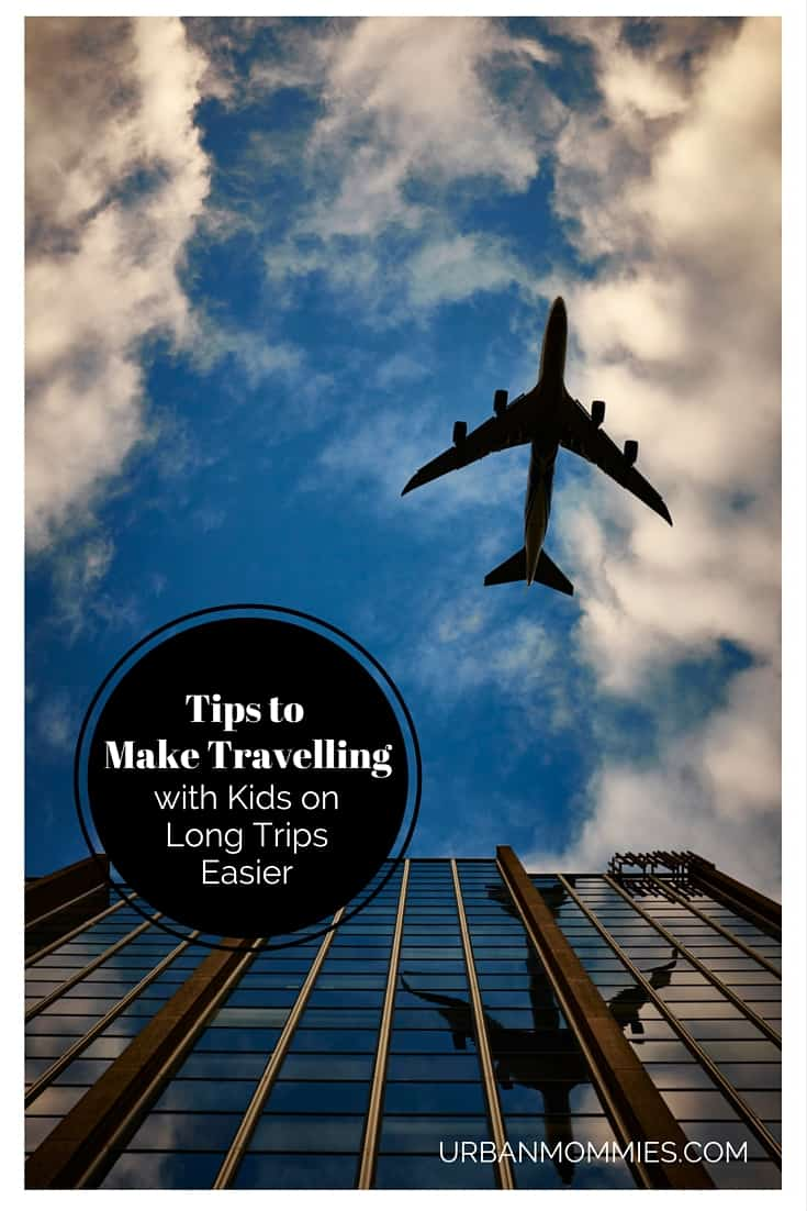 Tips to make travelling with kids on long trips easier