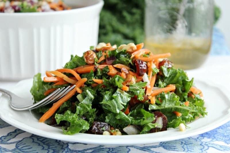 Kale and Hazelnut Winter Salad
