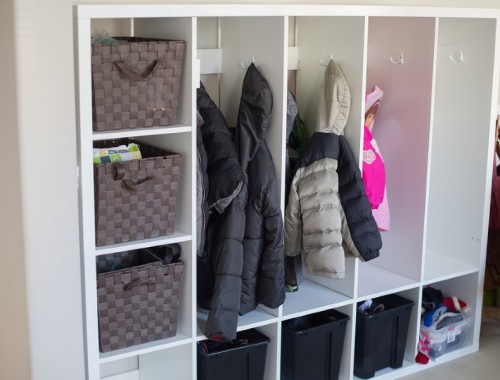 Ikea Hacks: Easy and Beautiful DIY Lockers for Kids