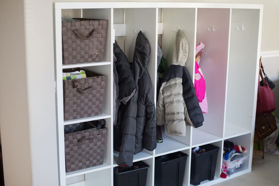 Ikea Hacks: Easy and Beautiful DIY Lockers for Kids