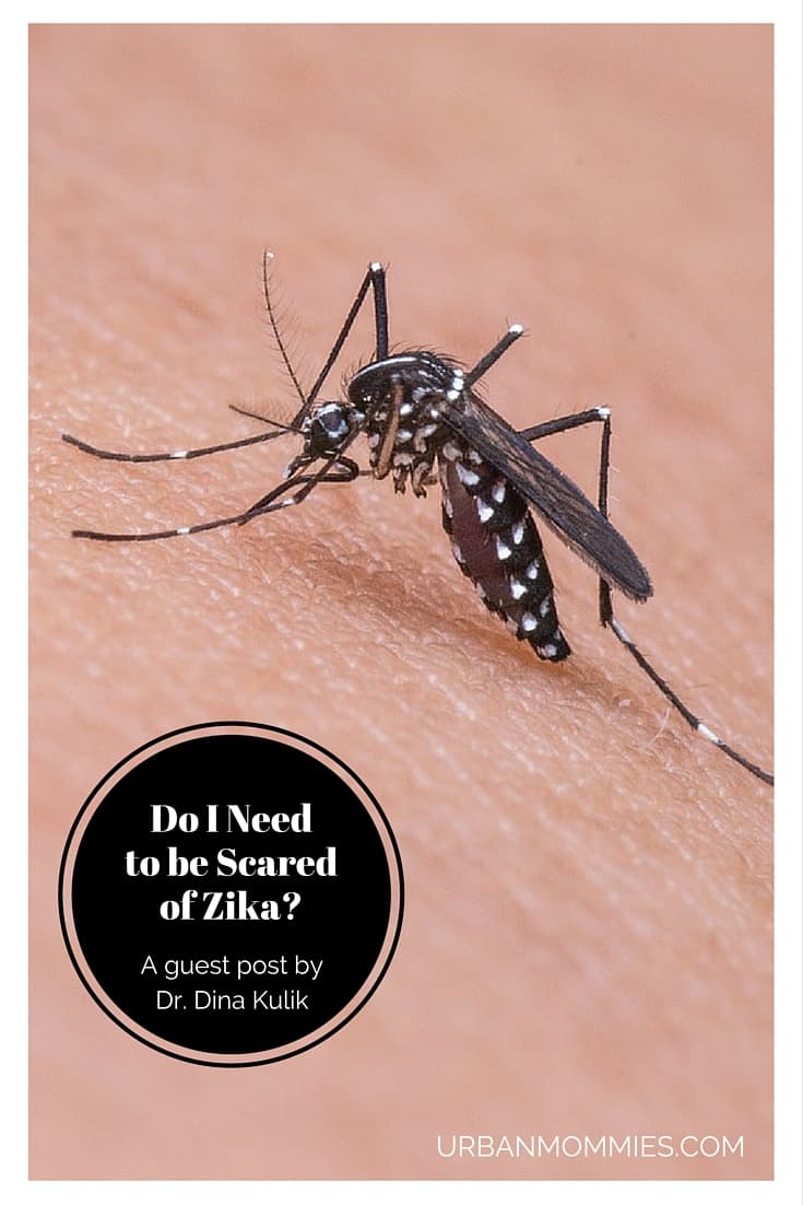 Do I need to be scared of Zika-