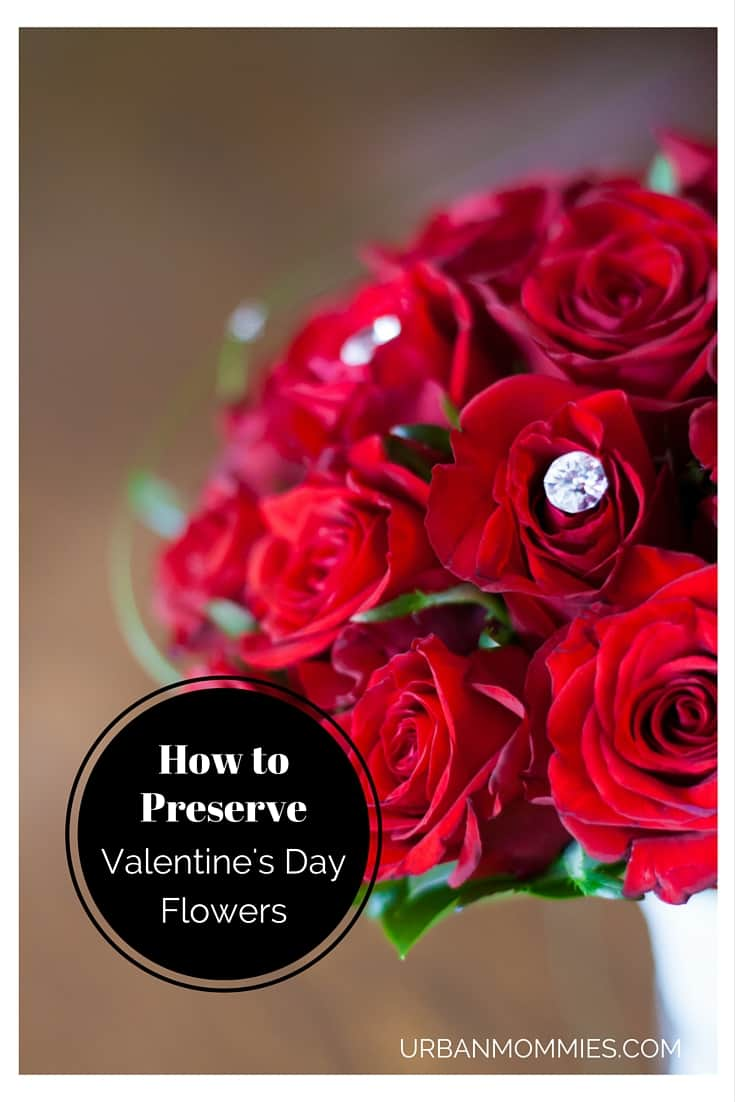 How to Preserve Flowers - Save Your Valentine's Day Flowers