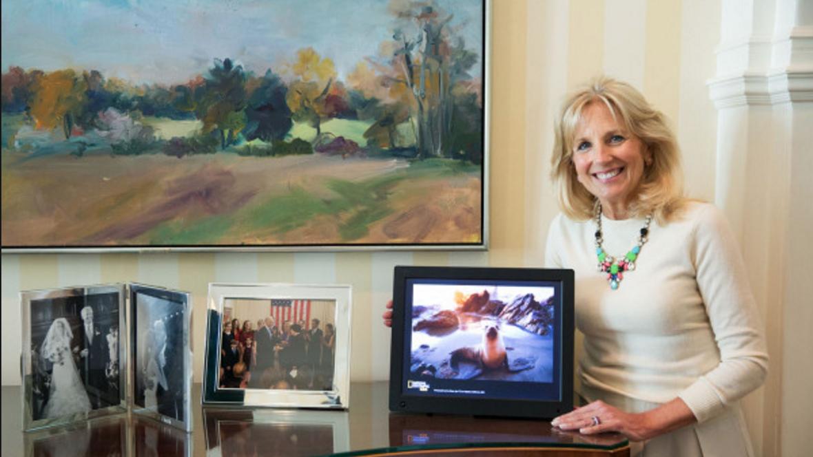 Jill Biden National Geographic
