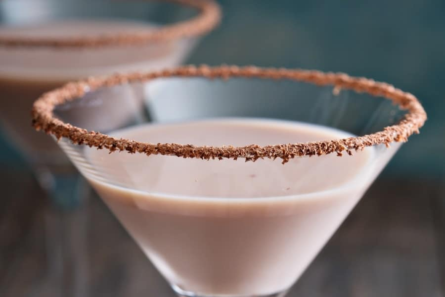 Peppermint Baileys Martini