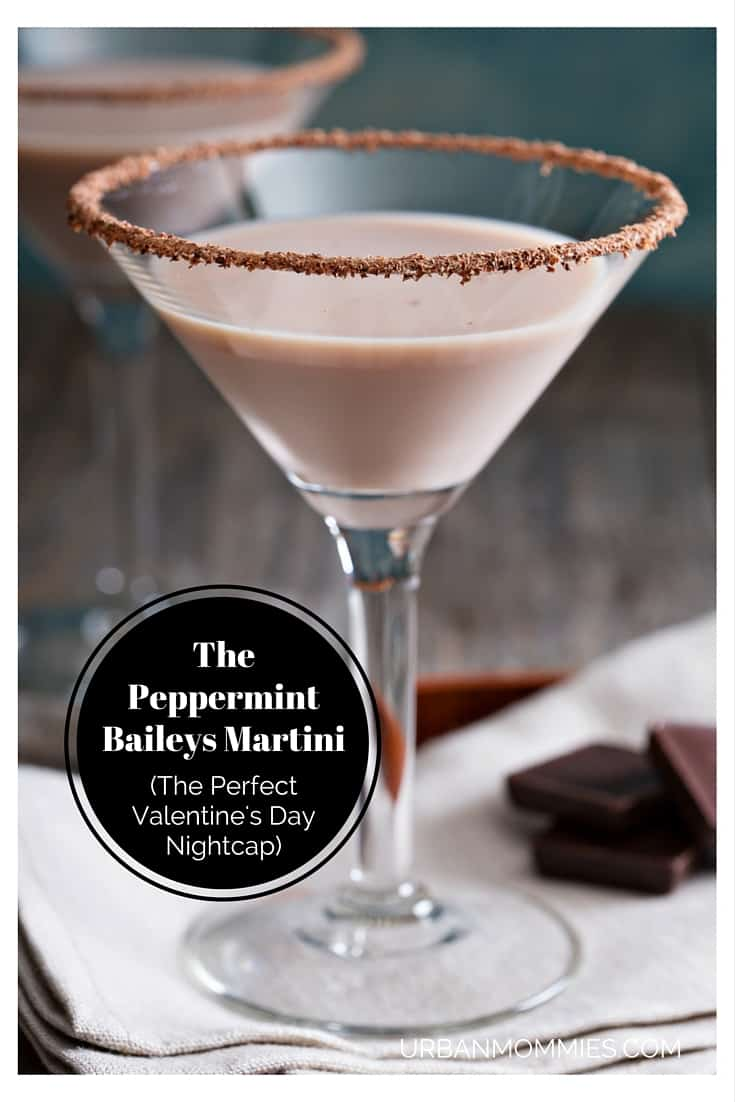 The Peppermint Baileys Martini