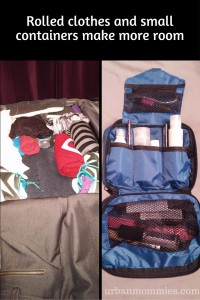 pack easily rolled clothes travel size containers