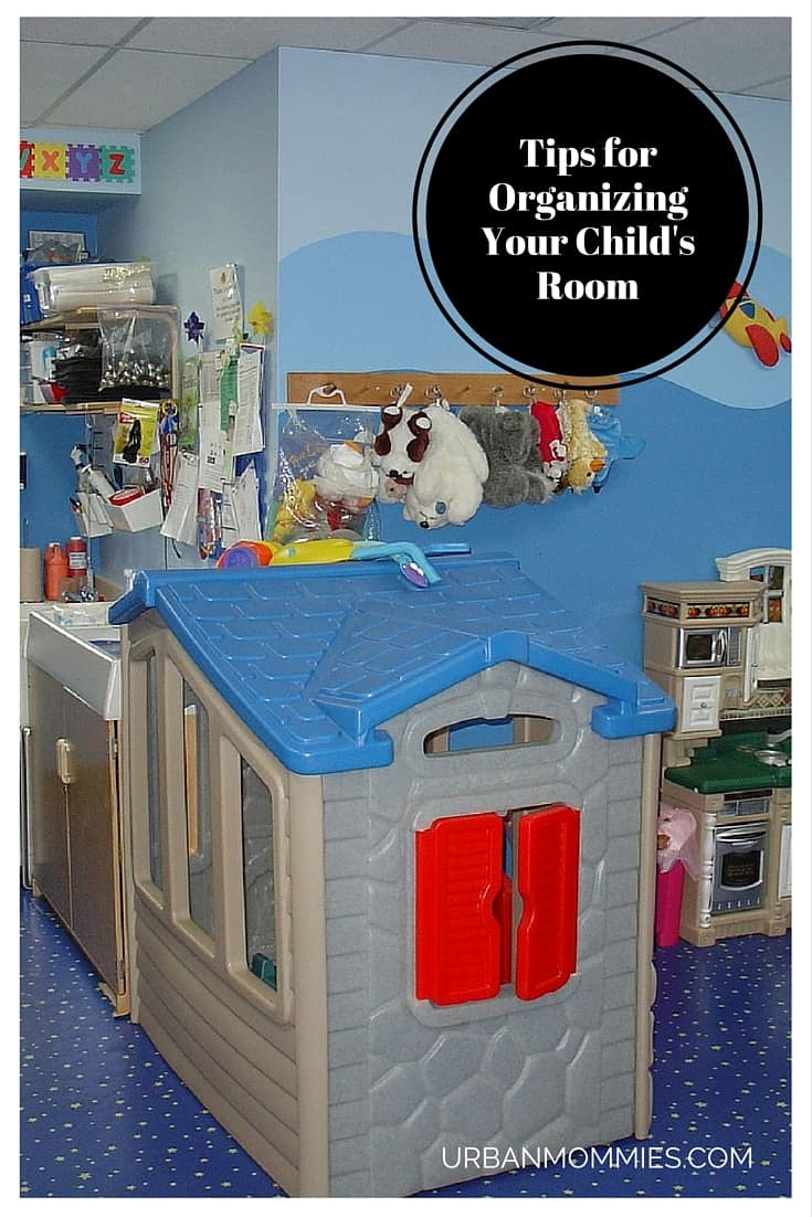 Tips for Organizing Your Child's Room
