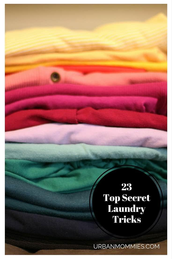 23 Top Secret Laundry Tricks