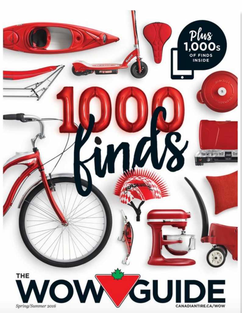 Canadian Tire WOW Guide