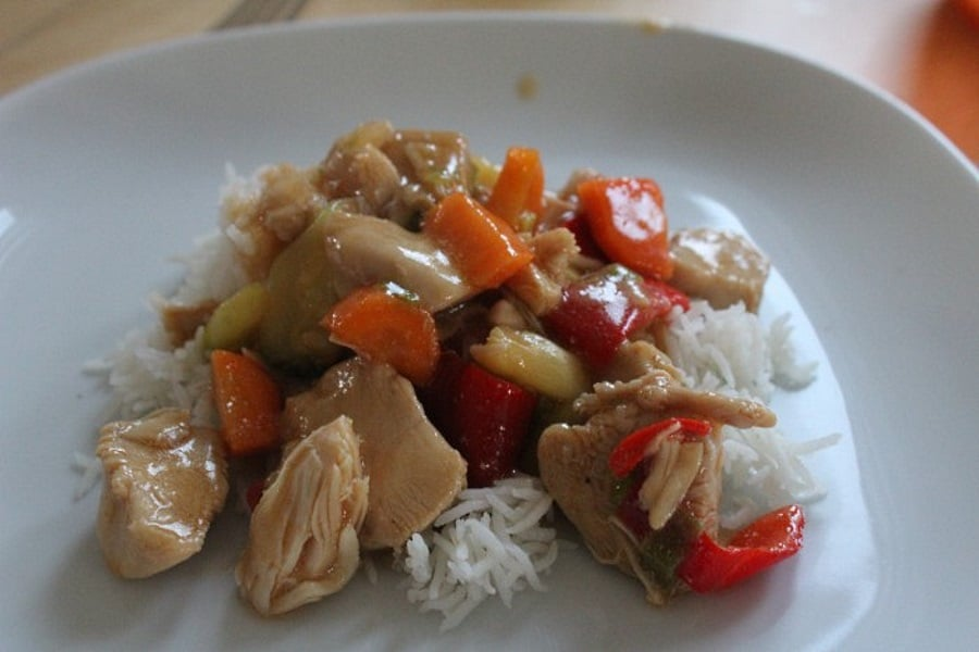 Chicken Stir-Fry with Zucchini