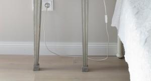 lamp white room