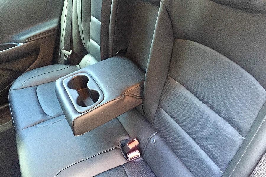 Chevy Malibu Back Seat