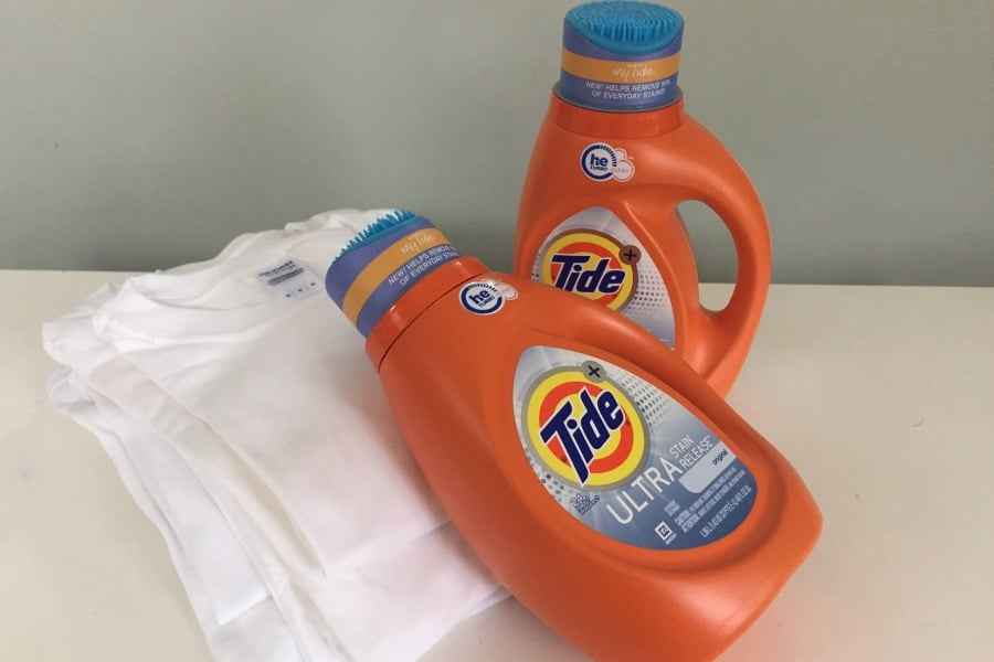 Tide Ultra Stain Release Challenge