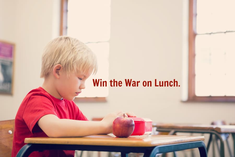 Winning lunch box wars with Quaker