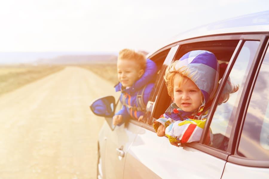 Road trip kids snacks