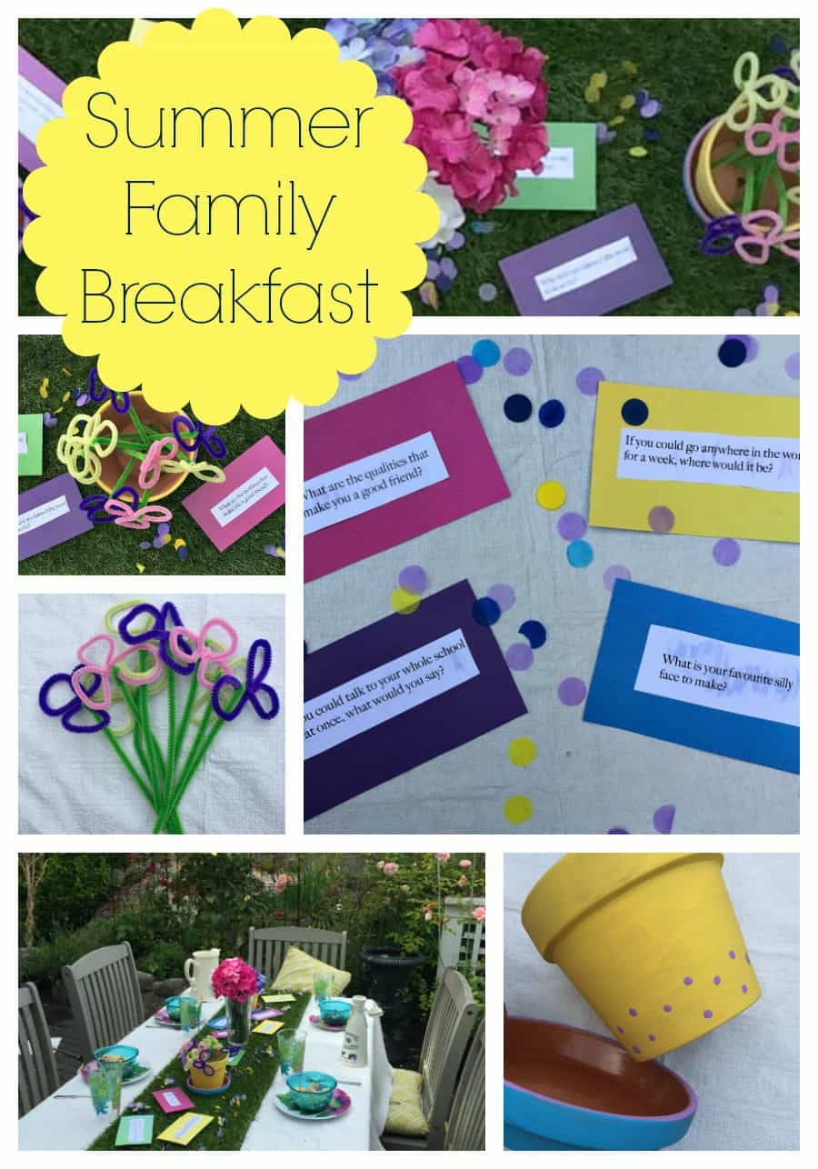 Fummer Family Breakfast Collage