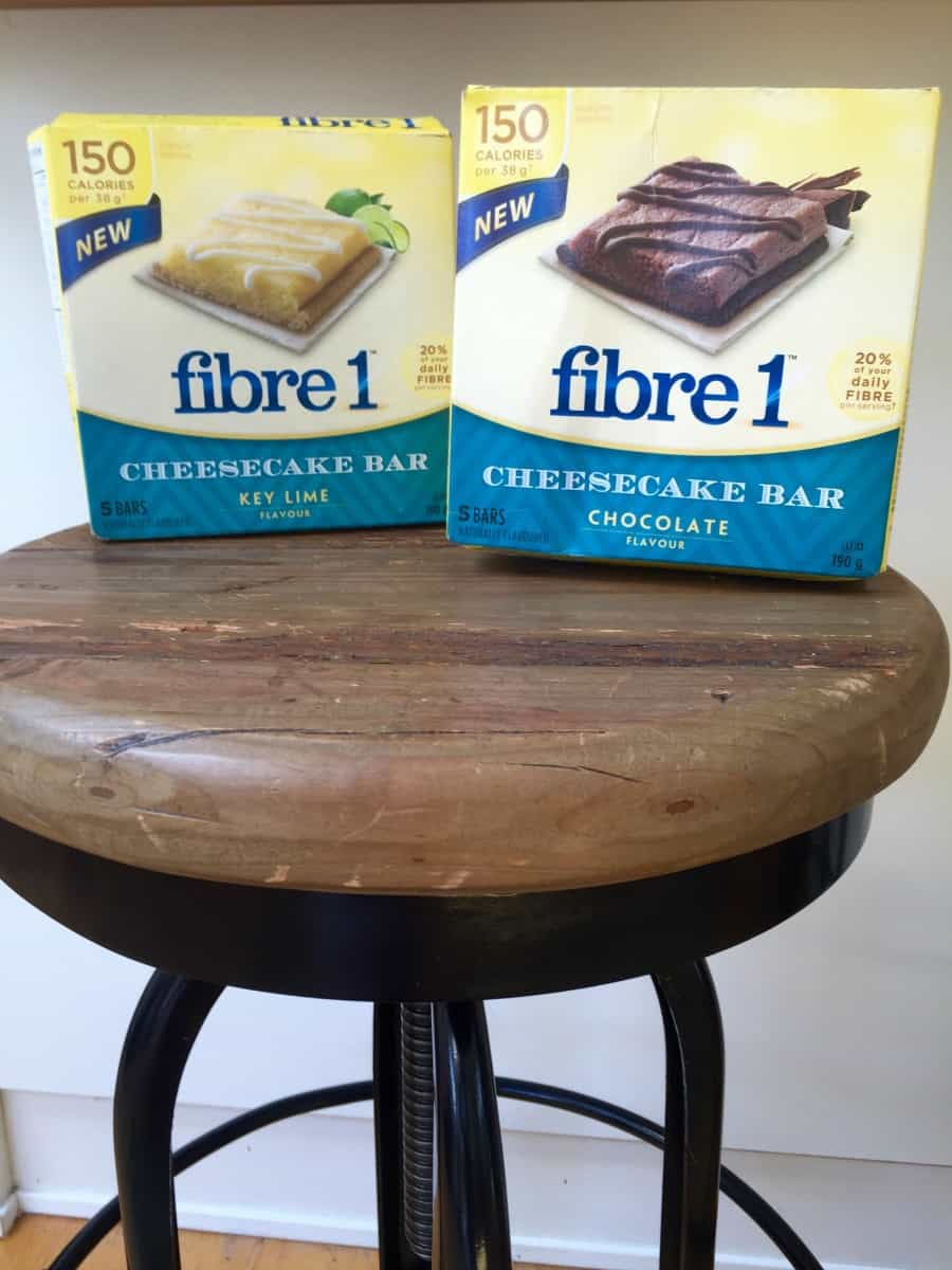 Fibre 1 Cheesecake Bars