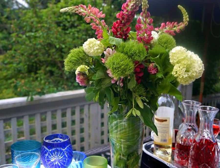 pizza-party-flower-arrangement
