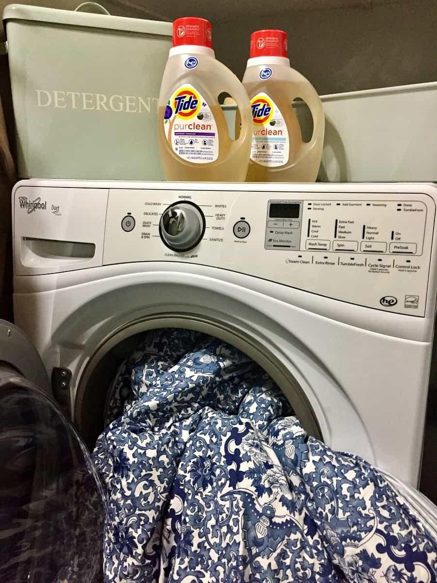 washing-a-duvet