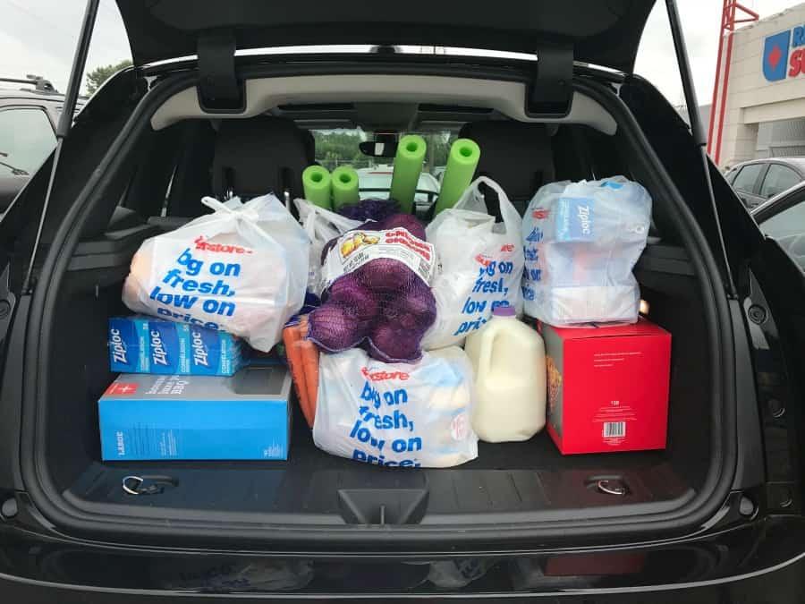 BMWi3 trunk