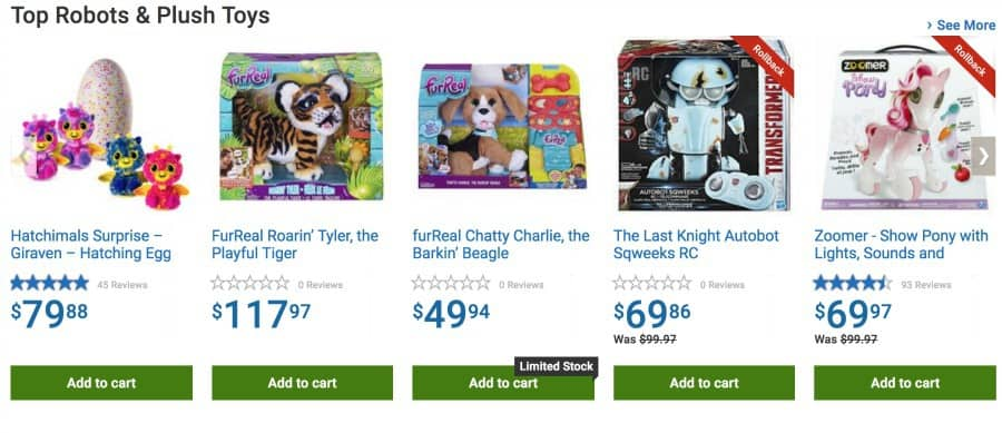 Top Toys Walmart