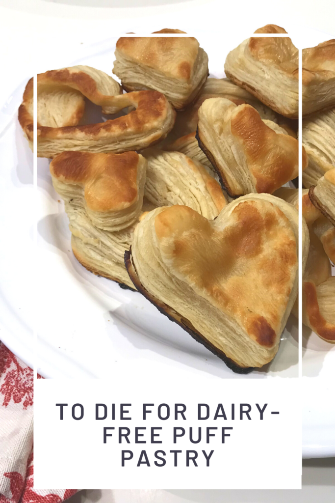 Dairy-free puff pastry