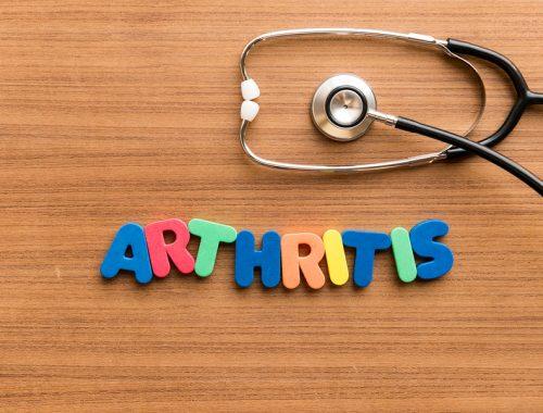 childhood arthritis concept image