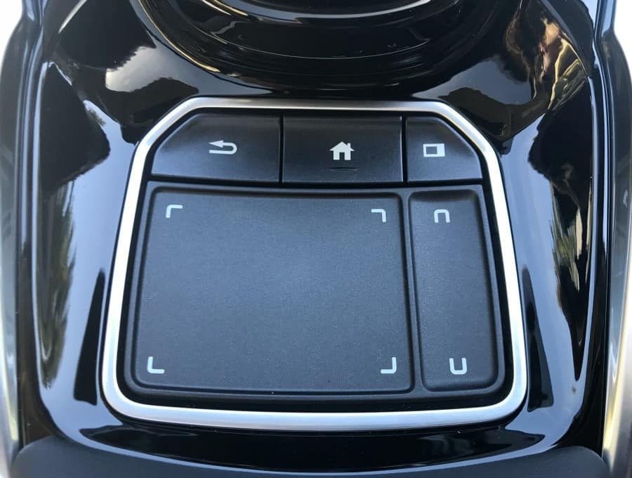 Acura RDX Touch Pad