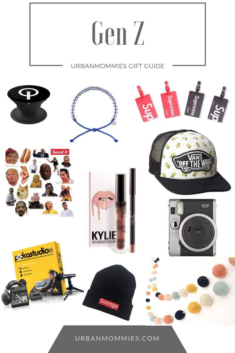 2018 Gen Z Holiday Gift Guide