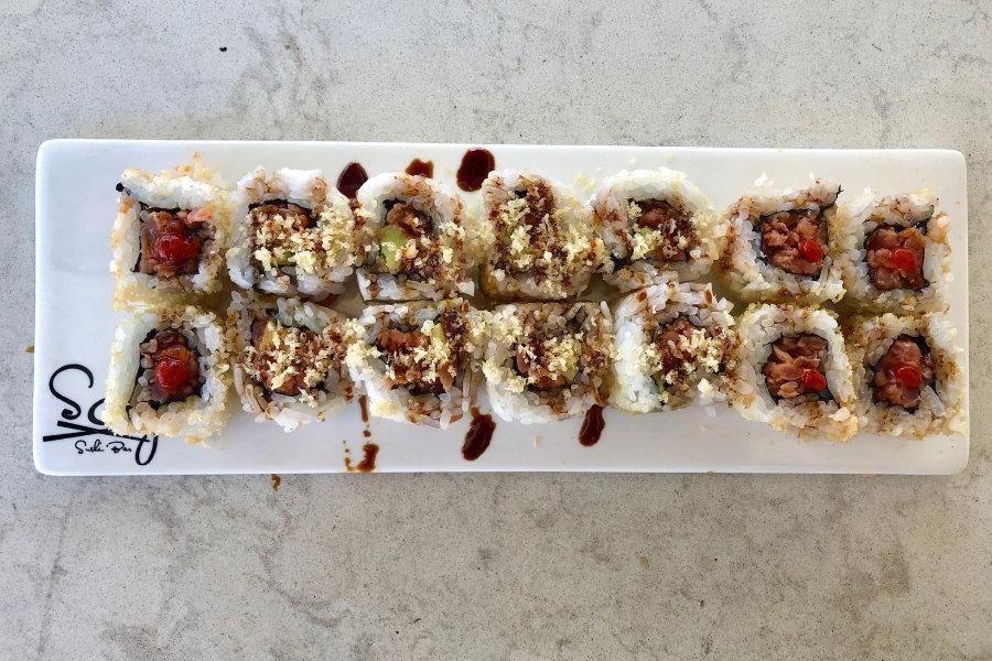 sushi at Beaches Resort