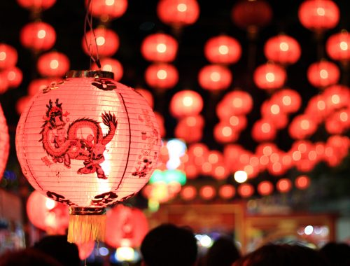 Chinese new year light