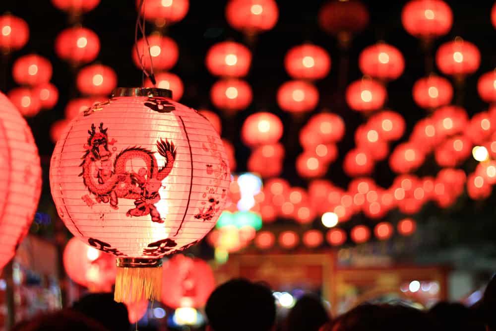 Chinese new year light