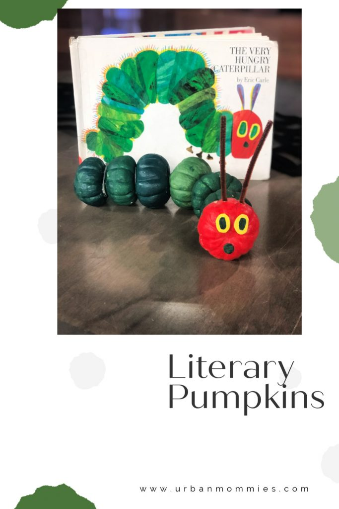 Literary Caterpillar Pumpkin
