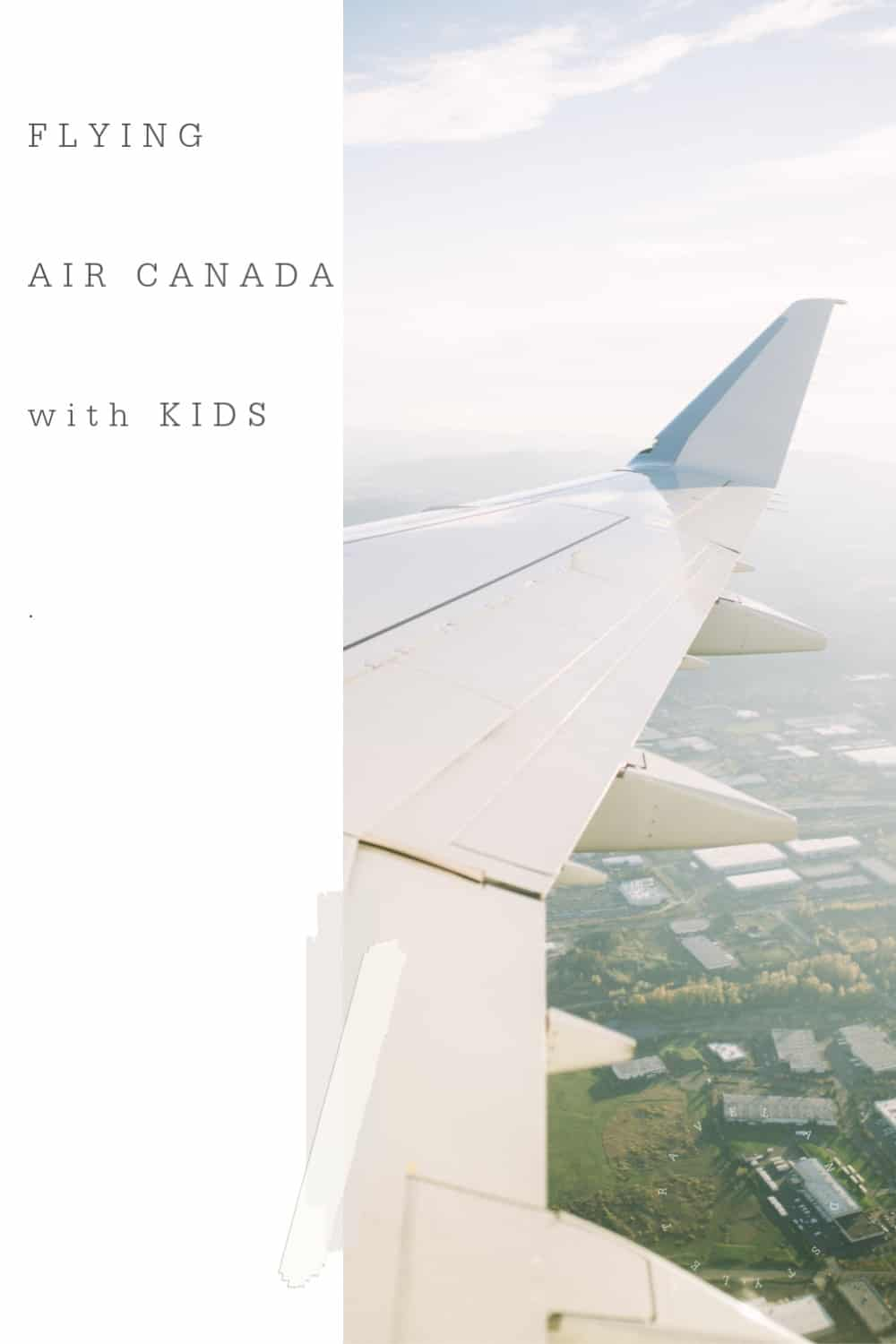 Air Canada With Kids
