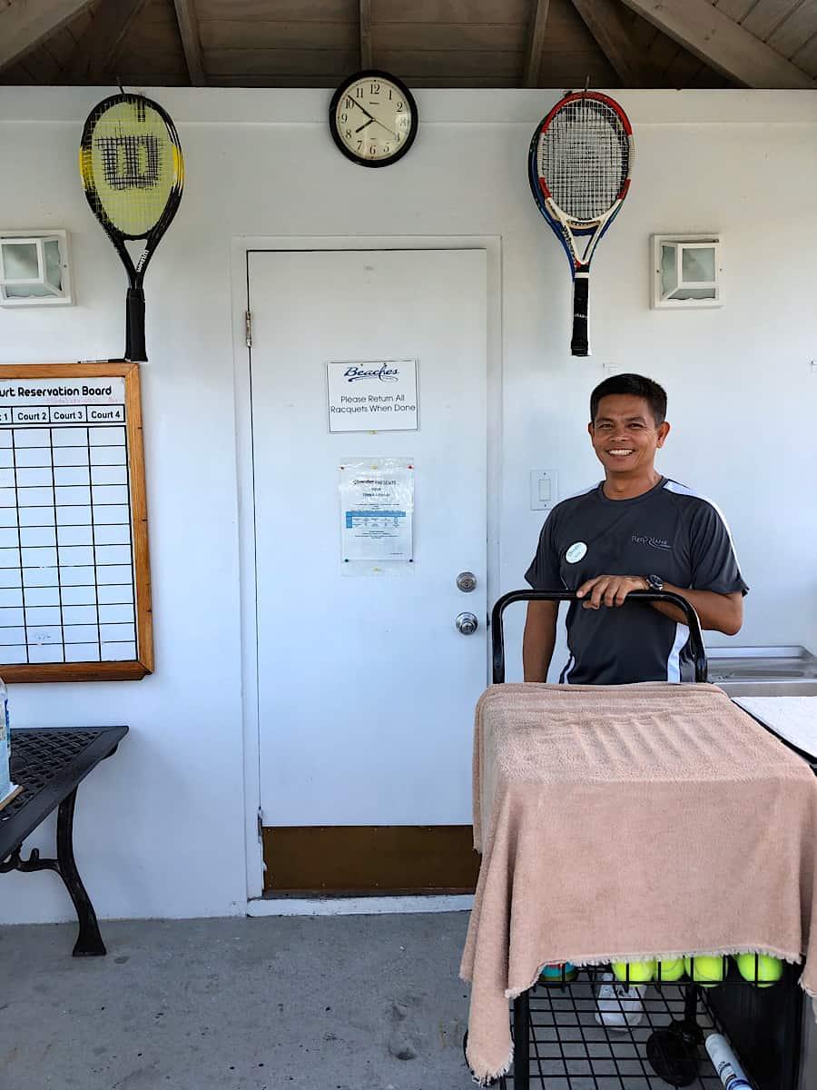 Free Tennis Clinics at Beaches Resorts