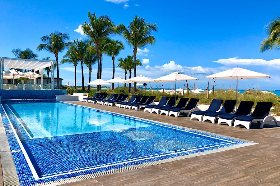 The Key West pool at Beaches Resorts