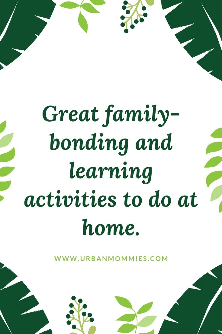 Learning activities at home