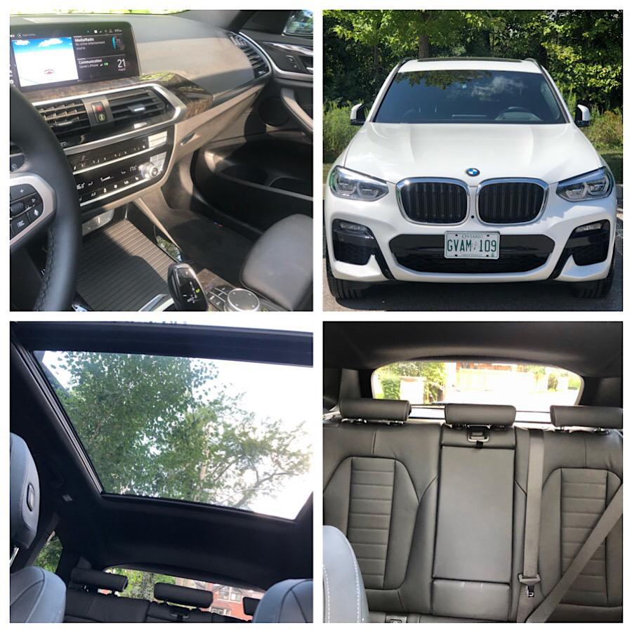 BMWX3e Interior Closeups