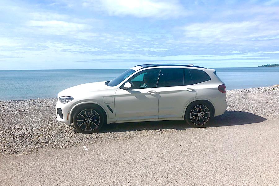 BMWX3e Prince Edward County Beach