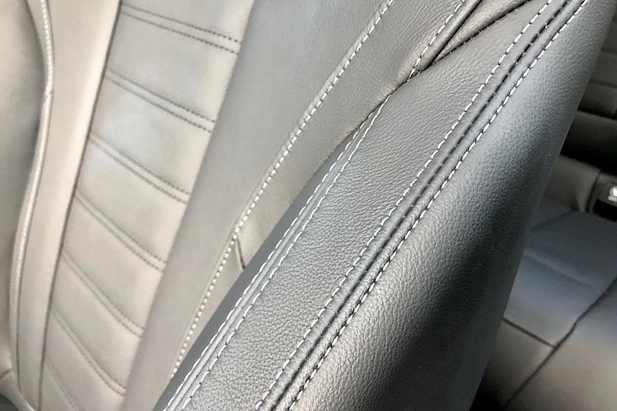 BMWX3e Seat stitching