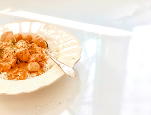 easy weeknight butter chicken