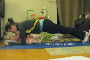 Fitness Plank Position