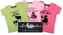 Crib Rock Couture t's for babies and kids
